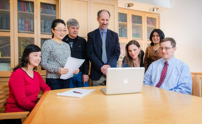 Dr. Baskin's research team at UCSF