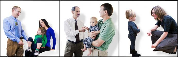 Doctors and patients from UCSF Pediatric Urology