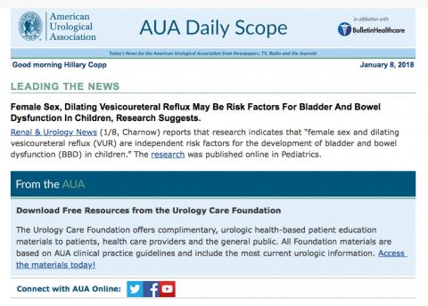 AUA Daily Scoop