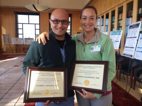 UCSF Department of Urology | Two Urology R5 Residents