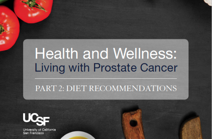 Health and Wellness: Living with Prostate Cancer Part 2: Diet Recommendations