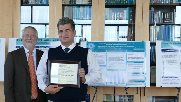 Maurice Garcia, MD, MAS Wins Excellence Award