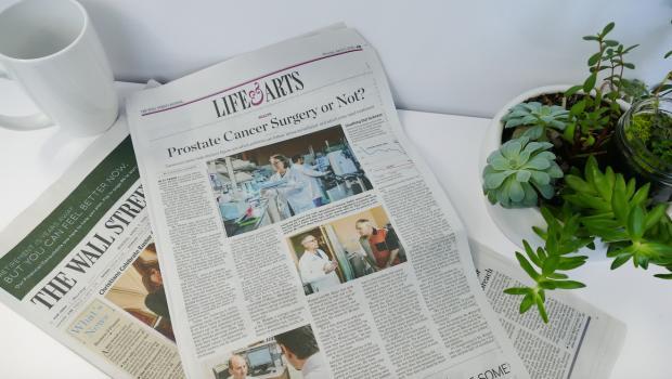 Wall Street Newspaper